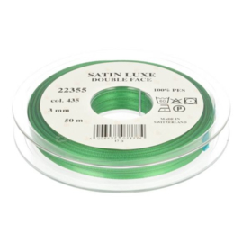 435 3mm Lint Satin Luxe Double face p.m.