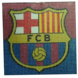 FC Barcelona Voorbedrukt Stramien Pakket