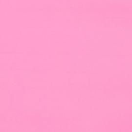 27 Roze Tissu de Marie uni stof 150cm breed