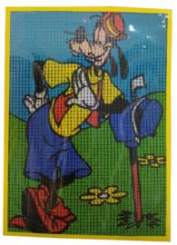 Goofy Magic Disney Pre Printed Canvas Vervaco