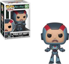 Purge Suit Morty Rick & Morty Pop!Funko