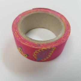 Roze Bloemen 2mx20mm Pimptape Oaki Doki