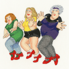 Dancing Class Beryl Cook