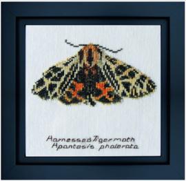 Harnessed Tiger moth Aida borduurpakket Thea Gouverneur