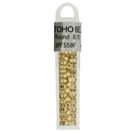 PF559F Toho glaskralen 8-0 4 gram