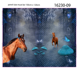 Mistery Horse Paneel 120 x 150cm Stenzo
