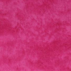 Hard Roze Gewolkt Tissu de Marie Stof 110cm breed