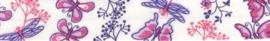 Roze Vlinders Fantasie Biais band Fillawant