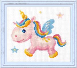 Rainbow Unicorn Aida Chudo-Igla Telpakket