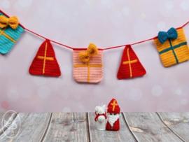 Sinterklaas Slinger Gehaakt Durable Cosy Extra Fine