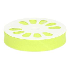 526 Gif groen Gevouwen Biasband 20mm p.m. Oaki Doki