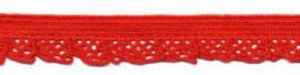 Rood 12mm Elastisch Kant
