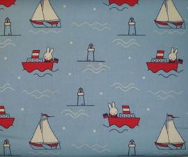 Miffy Yacht  Nijntje Jacht - Camelot Fabrics
