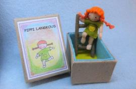 Pippi Langkous in een Doosje Atelier Pippilotta