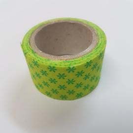 Groene Bloemetjes 2mx30mm Pimptape Oaki Doki