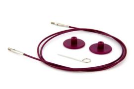 40cm Paarse Kabel KnitPro