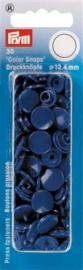 Blauwe Color Snaps Ronde Drukknopen Prym
