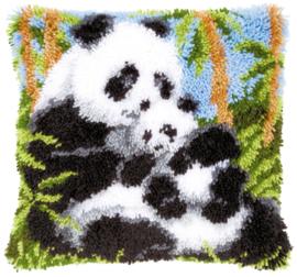 Panda's knoopkussen Vervaco