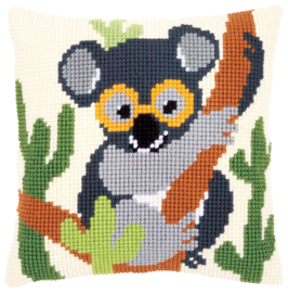 Koala Kruissteekkussen Vervaco