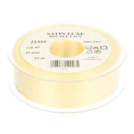 07 25mm Lint Satin Luxe Double face p.m.
