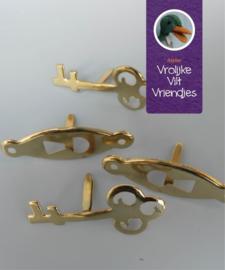 Sleutel Gat & Sleutels Materialen Vrolijke Viltvriendjes