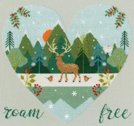 Wild At Heart: Roam Free Aida Bothy Threads Telpakket