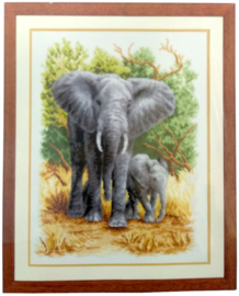 Olifantenfamilie Vervaco Telpakket