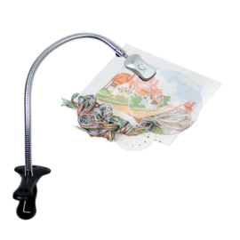 Large Clip-on Led Magnifying lamp PURElite