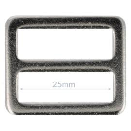 25mm Gesp metaal Nikkel