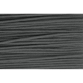 001 Grijs soepel koord 5mm