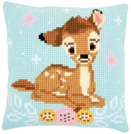 Disney Bambi Kruissteekkussen Vervaco