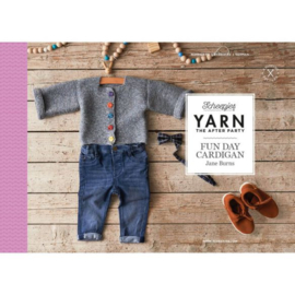 Yarn the after party fun day cardigan Scheepjes