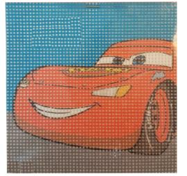 Disney Cars Voorbedrukt Stramien Pakket