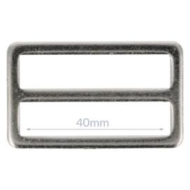 40mm Gesp metaal Nikkel