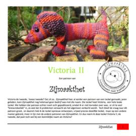 Victoria II Patroonboekje ZijMaaktHet