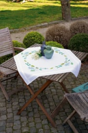 Leaves & Grass Tablecloth Vervaco