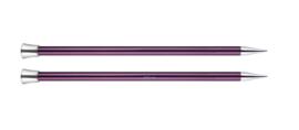 12mm Zing 40cm Breinaalden met Knop KnitPro