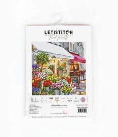 Flower Shop Aida burduurpakket - letistitch