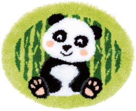 Panda Bear Latch Hook Rug Vervaco
