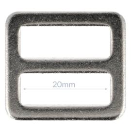 20mm Gesp metaal Nikkel