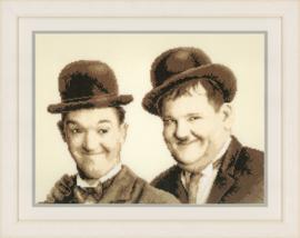 Stan Laurel & Oliver Hardy Vervaco telpakket