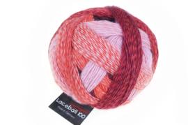 Red to Go 2305 Lace Ball 100 Zauberball Schoppel