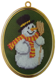Sneeuwpop Aida Vervaco Telpakket