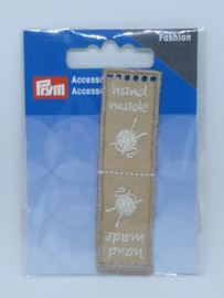 Beige Hand Made Label Prym