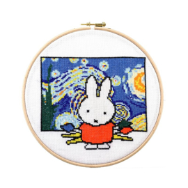 Miffy with Paint Brushes Aida Pako