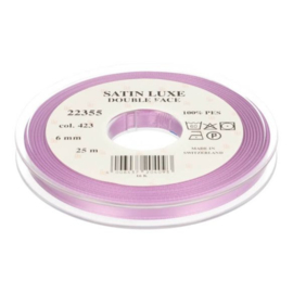 423 6mm Lint Satin Luxe Double face p.m.
