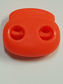 Oranje Koordstopper 2 gaats 21mm