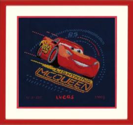 Lightning met Gierende Banden Disney Cars Aida Vervaco