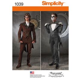 1039 AA Steampunk/ Jack Skellington stijl Simplicity