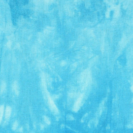 Blauwe Batik Tissu de Marie stof 150cm breed
